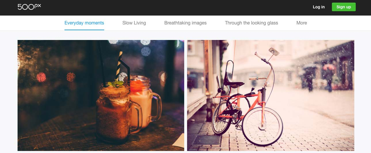 Card Style Interfaces in Web Design