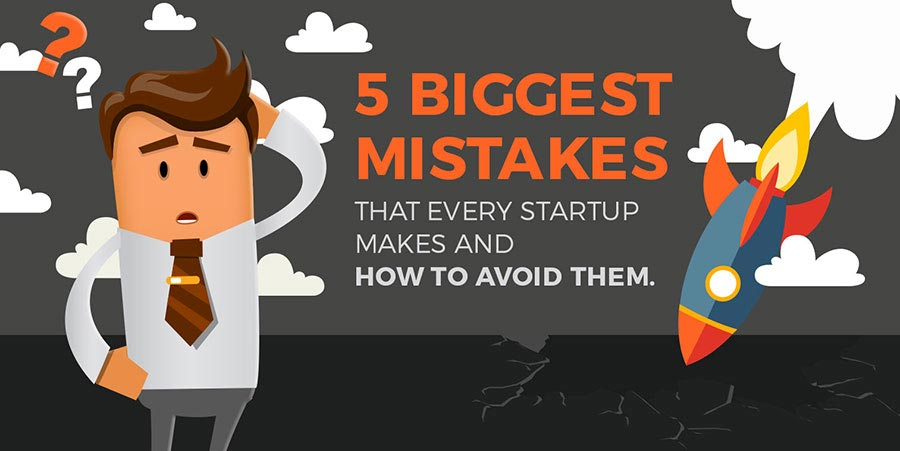 How to Avoid The 5 Biggest Mistakes That Every Startup Makes