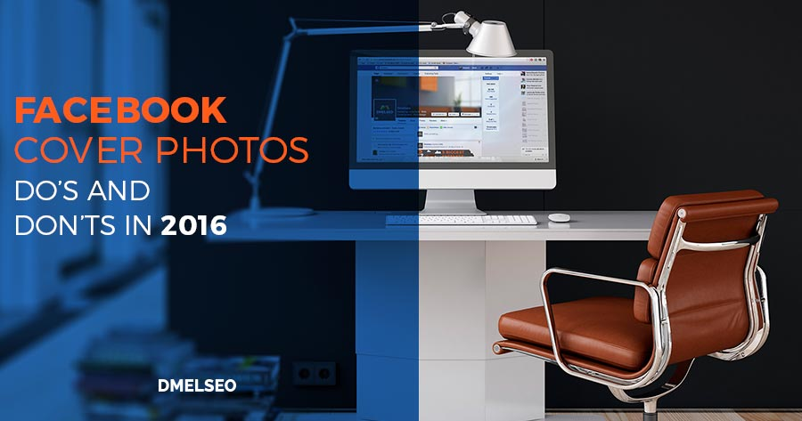 Image of a fancy office with the title Facebook Cover Photos 2016