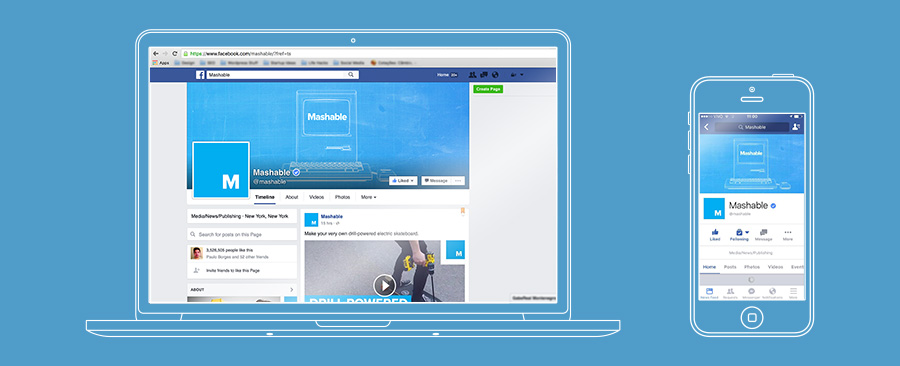 Responsive Design for Facebook